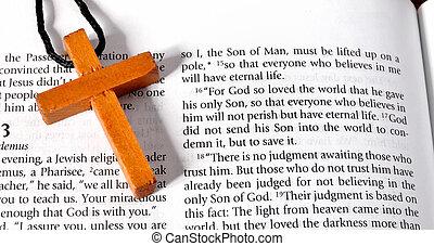 3:16, ジョン, 節, 聖書, 交差点