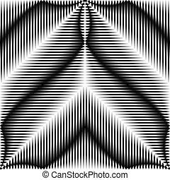 317-62 - Seamless Diagonal Stripe Pattern. Vector Black and...