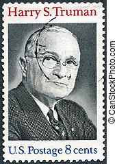 :, 33rd, usa, 1973, -, (1884-1972), harry, président, s.truman, spectacles