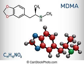 3,4-Methylenedioxymethamphetamine, MDMA, XTC, ecstasy ...