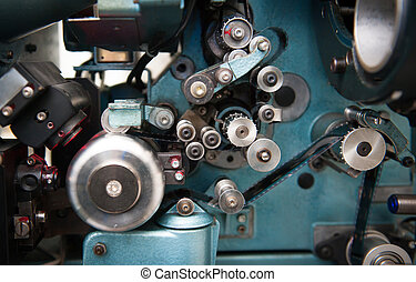 35 millimeter, film, bio, projektor, specificera