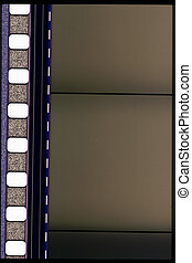 35 mm motion film - Piece of 35 mm motion film