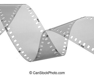 35 mm negative film strip