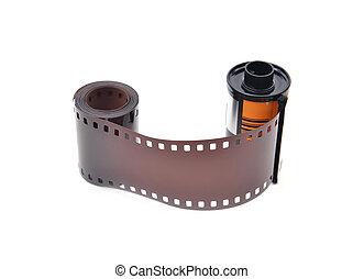 35 mm, película, cartucho