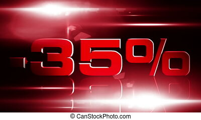 35 percent OFF 03 - 35 percent OFF discount animation