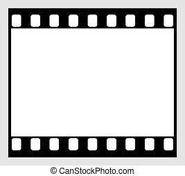 35mm Film Strip - 35mm film strip icon - horizontal