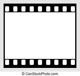 35mm film strip icon - horizontal