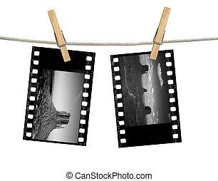35mm, negativo, monumento, monocromatico, valle, film