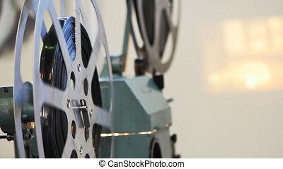 35mm, projecteur, pellicule, cinéma