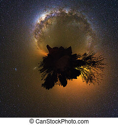 360 planet Milky way