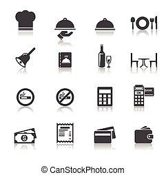 363 Restaurant icons