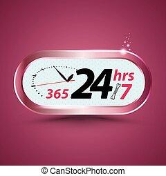 365 24hrs /7 open customer service