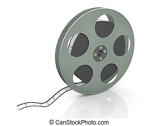 36mm, 3d, bobina, film