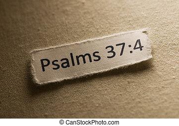37:4, salmos