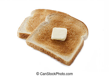 386 bread toast with butter