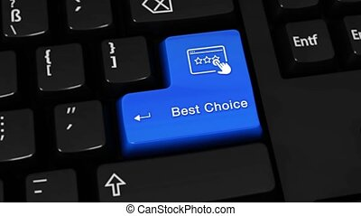 387. Best Choice Rotation Motion On Computer Keyboard Button.