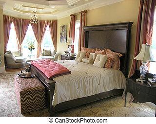 39, 贅沢, ベッド, 部屋