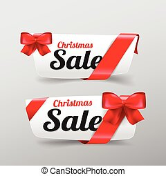 39 Collection of Christmas web tag banner for promotion sale and discount vector illustration