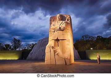 395th, monumento conmemorativo, 10, cc, rey, washington, dr...