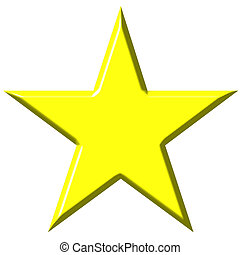 3d, étoile