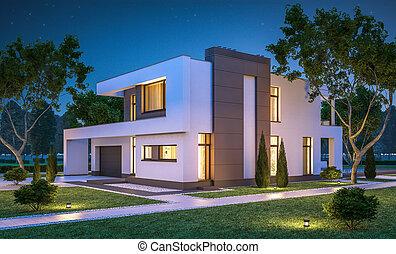 cozy bertragung haus modern verkauf garage miete. Black Bedroom Furniture Sets. Home Design Ideas