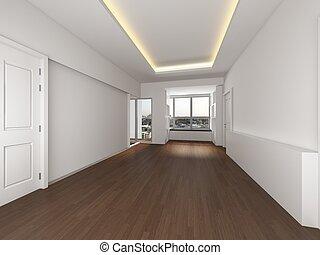 Fußboden Im Dachgeschoss ~ Stadt stil dachgeschoss boden windows boden zimmer weißes