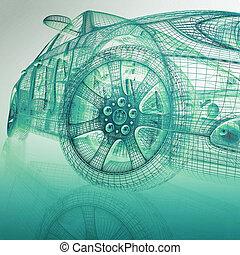 3d, דגמן מכוניות