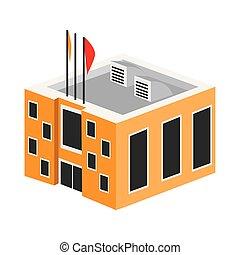3d, 建物, 政府