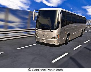3d, 旅行 バス