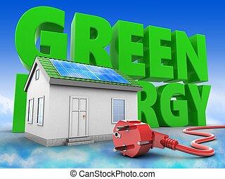 3d, 緑の家, ∥で∥, エネルギー