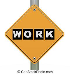 3d, 路標, 工作