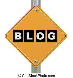 3d, 路標, blog