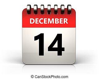 3d 14 december calendar