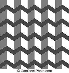 3d abstract black-white background