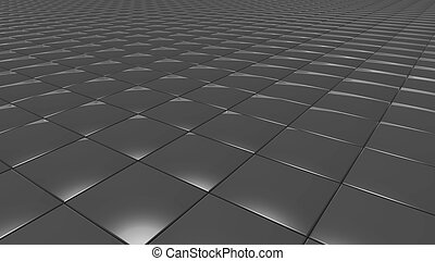 3D abstract grey pattern square