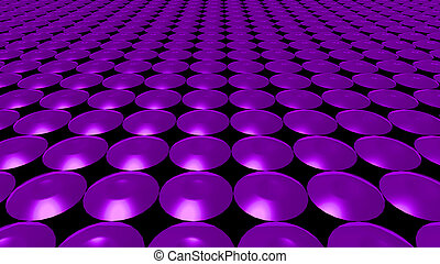 3D abstract purple pattern circle front