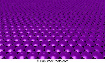 3D abstract purple pattern circle wide