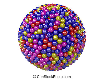 3d abstract sphere