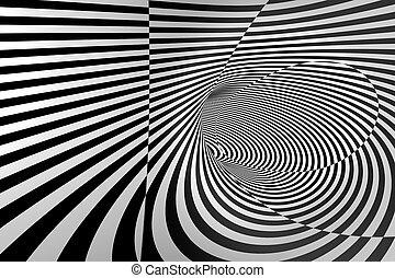 3D Abstract Spiral