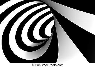 3d, abstratos, espiral