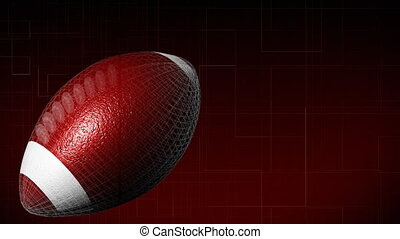 3d American Football in High Definition