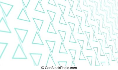 3D animation background with triangle and lines - 3D...