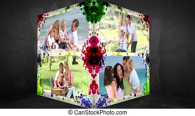 3D Animation-Cube of Family Vacatio