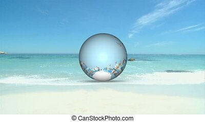3D Animation of Beach Holiday