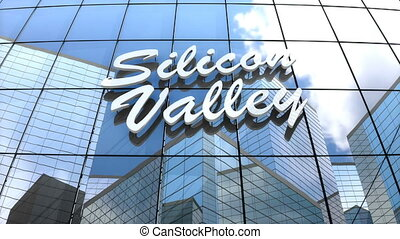 """""""3D animation, Silicon valley building"""""""