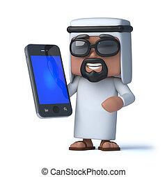3d Arab has a new smartphone