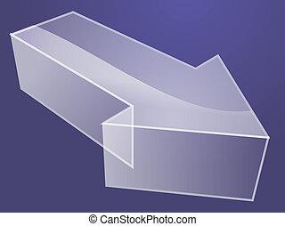 3d Arrow illustration