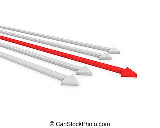3d arrows competition