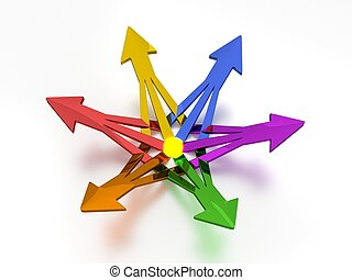 3D Arrows - Energy - 6 Colors