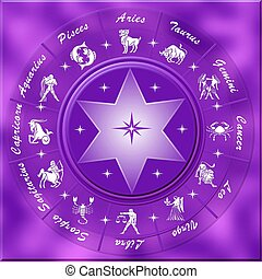 astrology symbol - 3d astrology symbol